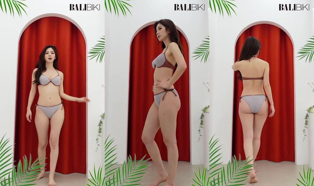 [BALIBIKI]?브리엘 미니체크 비키니?(2021 S/S 발리비키 신상비키니 미리보기) 2021 Summer Bikini Lookbook outfit fyp 4K 세로영상