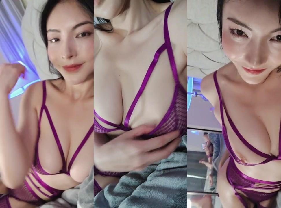 迷情紫 情趣内衣 Purple taste