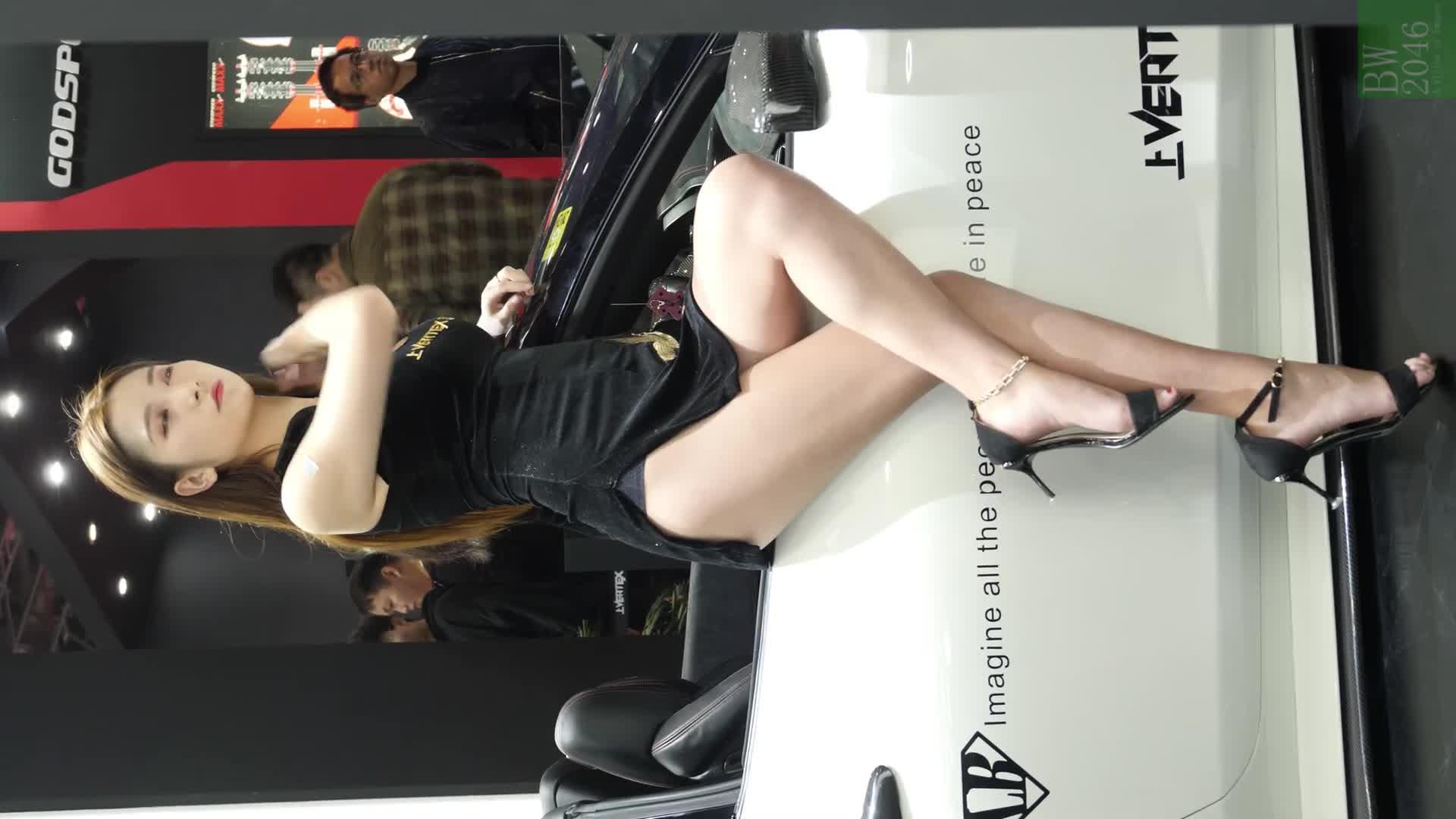 [4K] CAS 改裝車展 | China Auto Salon 2019 - Racing Model 레이싱모델 車模 #42 @ VERTEX Rental 上壹出行 (Horizontal)